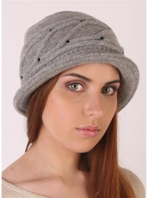 Шляпа SHERONA. Цвет: светло-серый