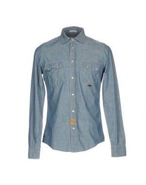 Pубашка ROŸ ROGER'S. Цвет: синий