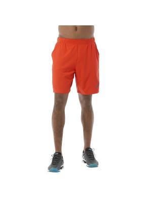Шорты PADEL SHORT 7IN ASICS. Цвет: оранжевый