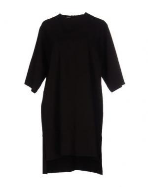 Короткое платье TROU AUX BICHES. Цвет: темно-коричневый