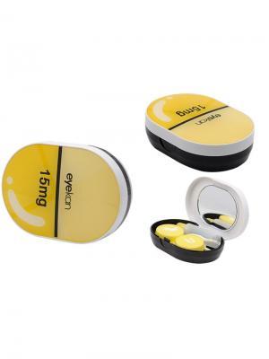 Набор для контактных линз MG-K1618-C6 Germes. Цвет: светло-желтый, желтый