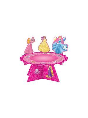 Украшение для пирога  Принцессы и животные Procos. Цвет: розовый