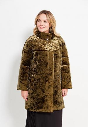 Пальто SHARTREZ. Цвет: хаки
