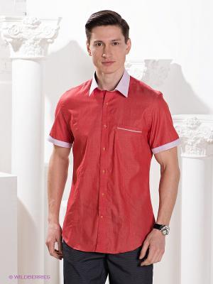 Рубашка MONDIGO. Цвет: красный