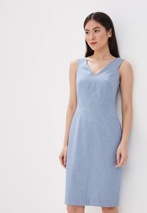 Платье джинсовое Banana Republic. Цвет: голубой