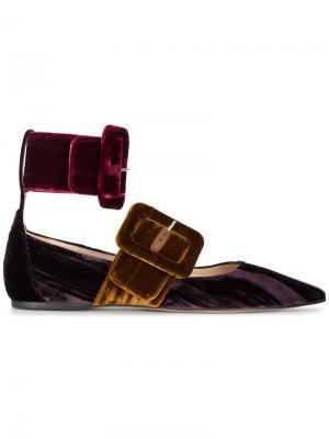 Туфли Mafle Attico. Цвет: многоцветный