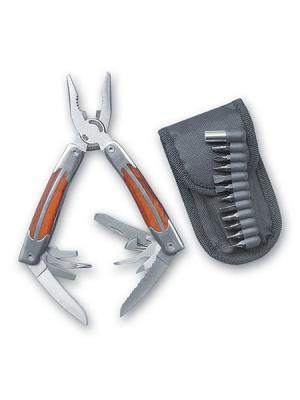 Многофункциональный нож Stinger. Цвет: серебристый (осн.)