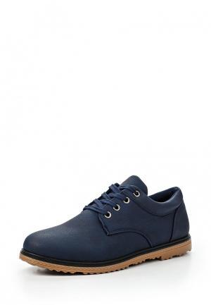 Ботинки T.P.T. Shoes. Цвет: синий