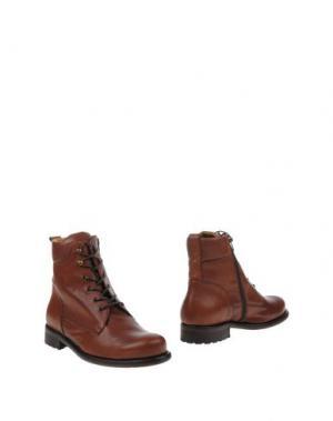 Полусапоги и высокие ботинки FIORANGELO. Цвет: коричневый