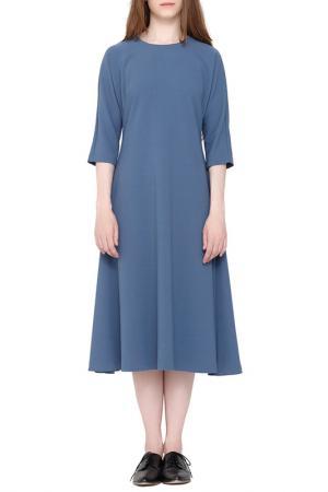 Платье Cyrille Gassiline. Цвет: серо-голубой