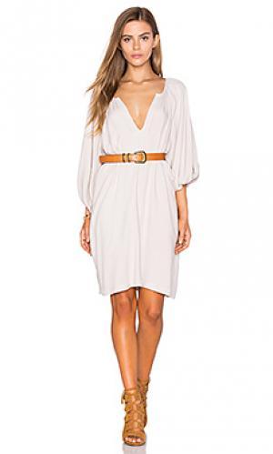 Мини платье naville SAM&LAVI. Цвет: светло-серый