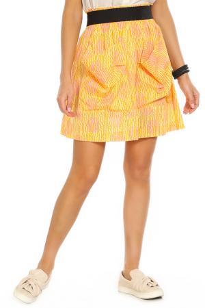 Юбка SONIA BY RYKIEL. Цвет: желтый