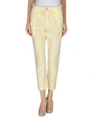 Повседневные брюки GOLD CASE. Цвет: желтый