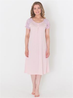 Ночная сорочка Лори. Цвет: розовый