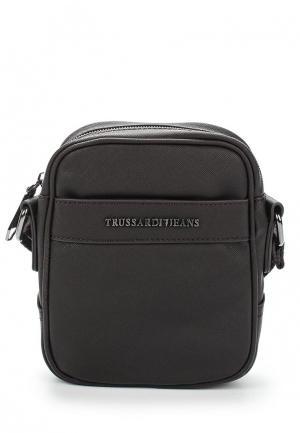 Сумка Trussardi Jeans. Цвет: коричневый