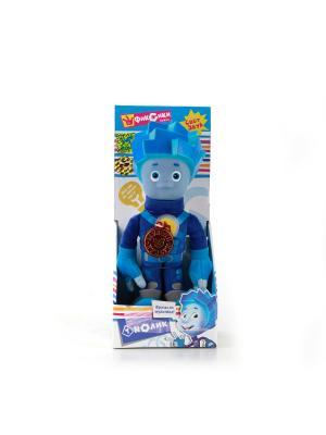 Мягкая игрушка Мульти-Пульти Фиксики. Нолик.. Цвет: синий, голубой