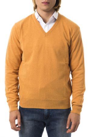 Пуловер UominItaliani. Цвет: оранжевый