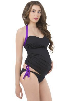 Купальный костюм Nid d'Ange. Цвет: черный, фиолетовый