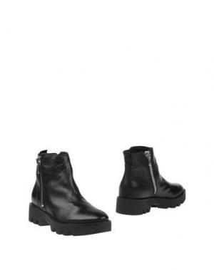 Полусапоги и высокие ботинки CARMENS. Цвет: черный