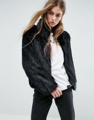 Unreal Fur Куртка Delicious. Цвет: черный