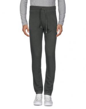 Повседневные брюки CONVERSE. Цвет: темно-зеленый