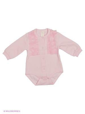 Боди для  детей Baby Boom. Цвет: розовый