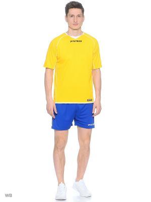 Футболка Patrick. Цвет: желтый