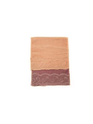 Комплект салфеток Luxury. La Pastel. Цвет: фиолетовый, розовый