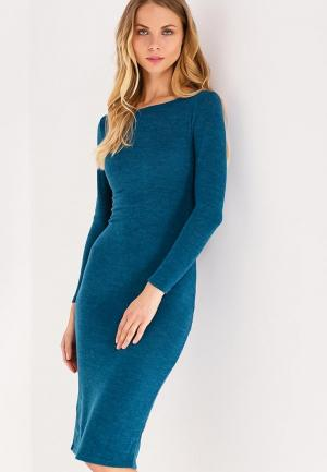 Платье Kira Mesyats. Цвет: бирюзовый