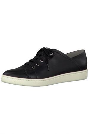 Ботинки на шнурках Tamaris. Цвет: черный