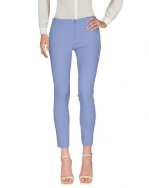 Повседневные брюки AQUILANO-RIMONDI. Цвет: розовато-лиловый