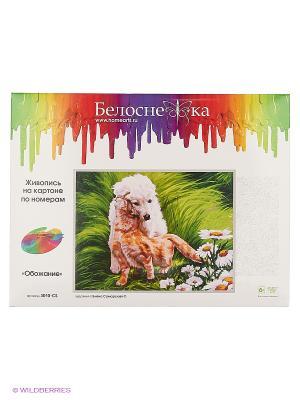 Наборы для живописи на картоне 30Х40 см. Белоснежка. Цвет: белый