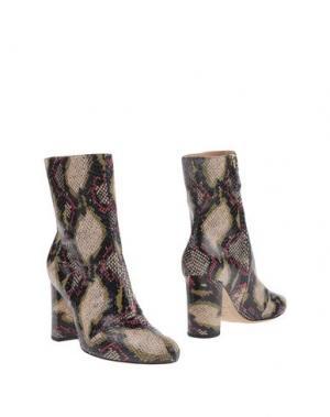 Полусапоги и высокие ботинки BRIAN ATWOOD. Цвет: бежевый