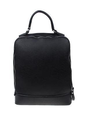 Рюкзак Gusachi. Цвет: черный, серебристый