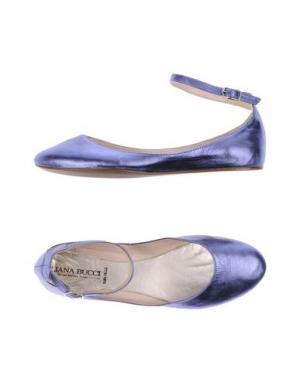 Балетки ELIANA BUCCI. Цвет: фиолетовый