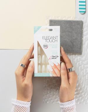 Elegant Touch Накладные ногти миндалевидной формы Totally Bare. Цвет: очистить