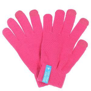 Перчатки  Touchgloves Dark Pink TrueSpin. Цвет: розовый