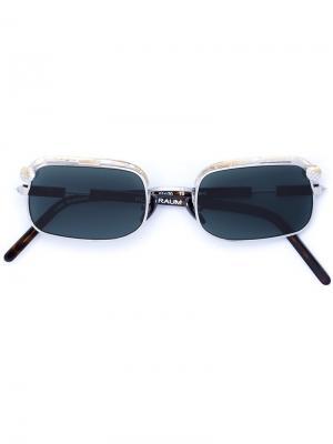 Солнцезащитные очки Mask Z4 Kuboraum. Цвет: металлический