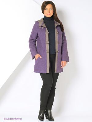Пальто Gamelia. Цвет: сиреневый