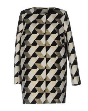 Легкое пальто ELLA LUNA. Цвет: черный