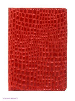 Обложка для автодокументов A.Valentino. Цвет: темно-красный, красный