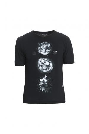 Футболка из хлопка 152833 Mode De Vie. Цвет: черный