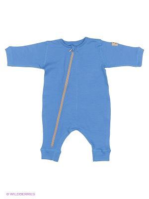 Комбинезон детский Janus. Цвет: голубой