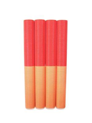 Плейсмат, 4 шт DiMi. Цвет: красный, оранжевый