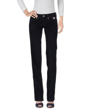 Джинсовые брюки ROŸ ROGER'S. Цвет: темно-синий