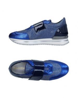 Низкие кеды и кроссовки GIANCARLO PAOLI. Цвет: ярко-синий