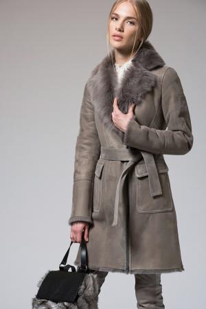 Пальто VESPUCCI BY VSP. Цвет: бежевый