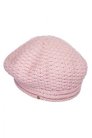 Берет розовый GURU Canoe. Цвет: розовый
