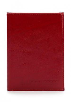 Обложка для документов Franchesco Mariscotti. Цвет: красный