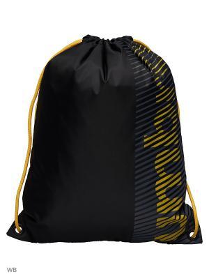 Рюкзак Umbro. Цвет: желтый, черный, серый